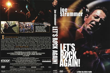Let's Rock Again DVD Back Cover